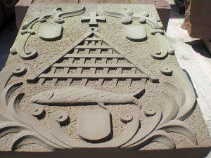 sculpture bas relief en grès sculpteur bruno marson ernolsheim bruche strasbourg