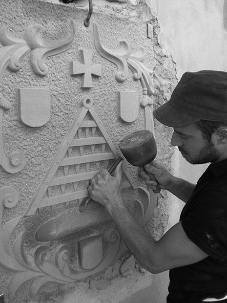 Bruno Marson sculpteur et tailleur de pierre ernolsheim bruche strasbourg