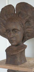 sculpture buste alsacienne sculpteur bruno marson ernolsheim bruche strasbourg