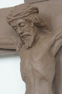 sculpture christ sculpteur bruno marson ernolsheim bruche strasbourg