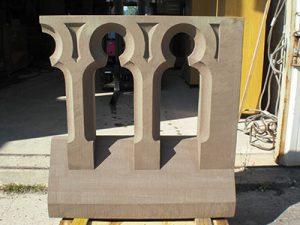 balustrade en grès tailleur de pierre bruno marson ernolsheim bruche strasbourg