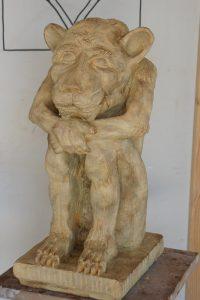 sculpture gargouille sculpteur bruno marson ernolsheim bruche strasbourg