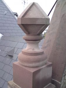 sculpture pot à feu pierre tailleur de pierre bruno marson ernolsheim bruche strasbourg