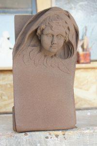 sculpture ange pierre sculpteur bruno marson ernolsheim bruche strasbourg
