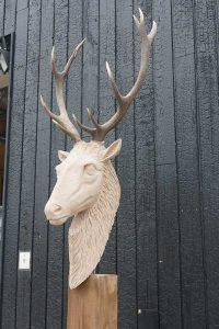 sculpture cerf pierre sculpteur bruno marson ernolsheim bruche strasbourg