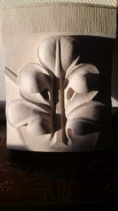 sculpture fleur pierre sculpteur bruno marson ernolsheim bruche strasbourg