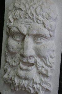 sculpture bachus en pierre sculpteur bruno marson ernolsheim bruche strasbourg
