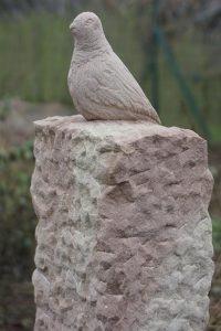 oiseau pierre sculpteur bruno marson ernolsheim bruche strasbourg