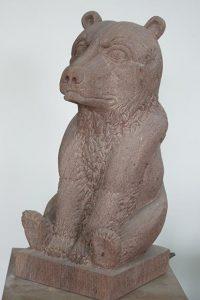 ours en pierre sculpteur bruno marson ernolsheim bruche strasbourg