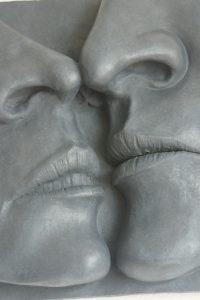 sculpture visage argile sculpteur bruno marson ernolsheim bruche strasbourg