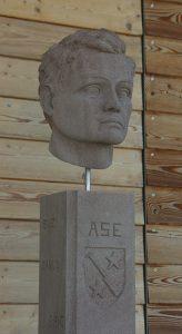 sculpture buste en pierre sculpteur bruno marson ernolsheim bruche strasbourg