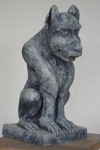 sculpture chimère sculpteur bruno marson ernolsheim bruche strasbourg